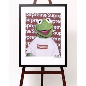 Suprem x Kermit the frog print
